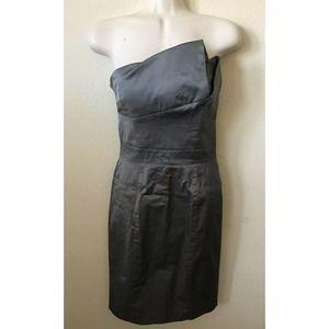 Bebe Strapless Crumb Catcher Lined Dress